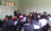 Debate competition at IAMR, on International Mother Language Day